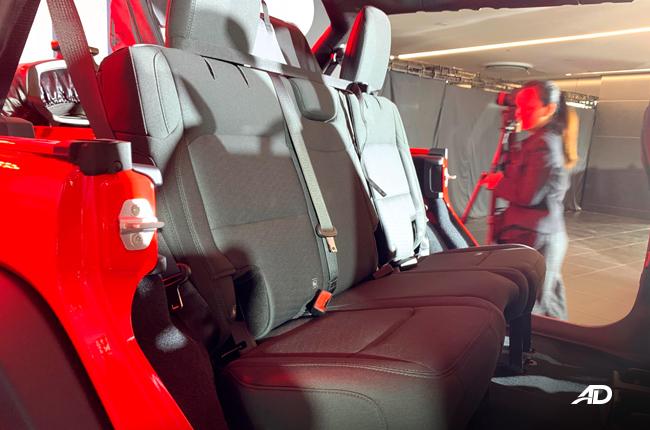 2019 Jeep Wrangler Unlimited JL interior