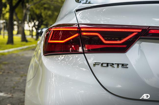 2019 Kia Forte GT taillight philippines