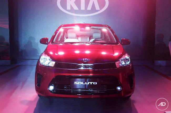 2019 Kia Soluto Philippines front live