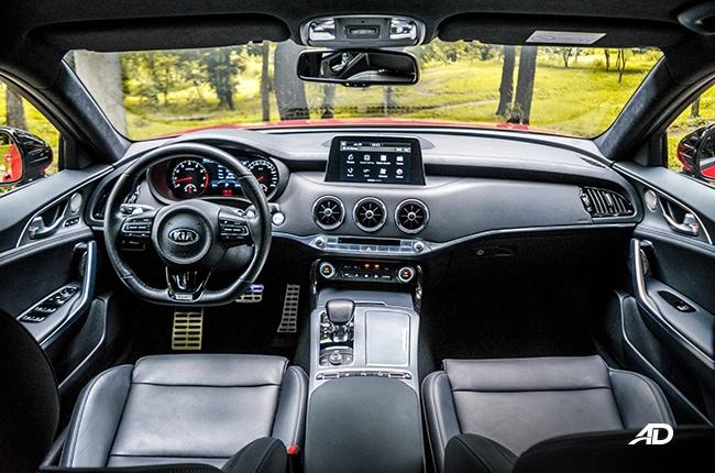 2019 Kia Stinger interior Philippines