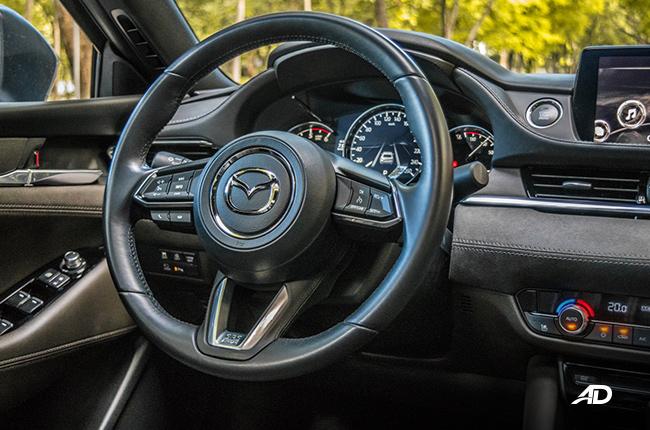 2019 Mazda6 Sedan Interior