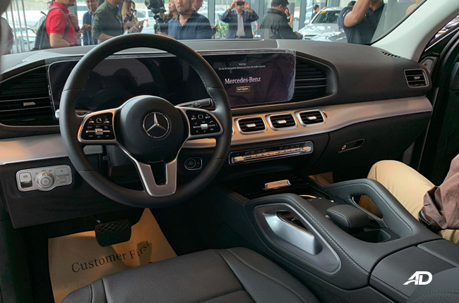 2019 Mercedes-Benz GLE Dashboard