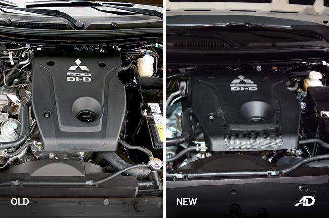 2019 Mitsubishi Strada face-off engine