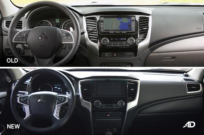 2019 Mitsubishi Strada face-off interior