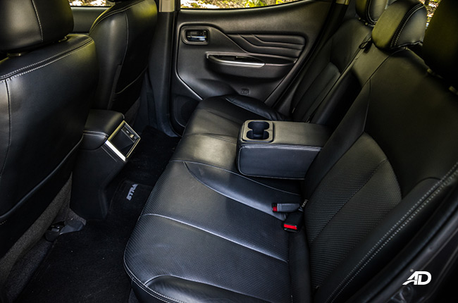 2019 Mitsubishi Strada interior philippines