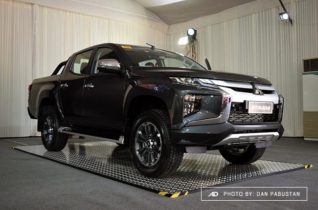 2019 Mitsubishi Strada Philippines exterior