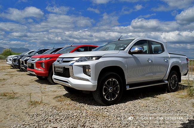 2019 Mitsubishi Strada Philippines lineup
