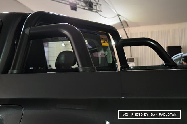 2019 Mitsubishi Strada Philippines roll bar