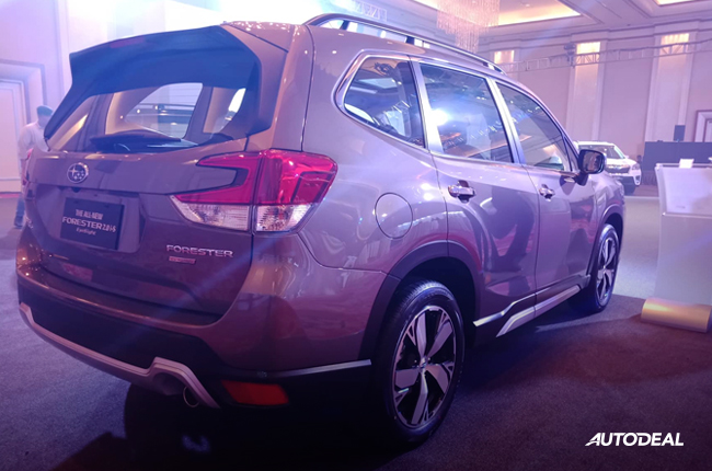 2019 Subaru Forester rear