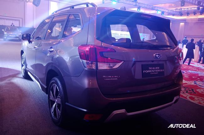 2019 Subaru Forester rear quarter