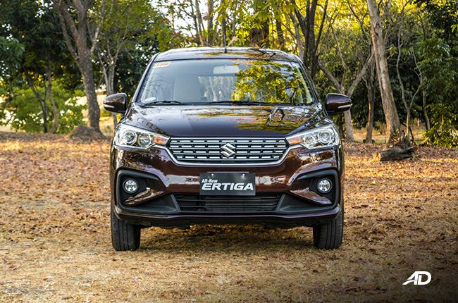 2019 Suzuki Ertiga Front.