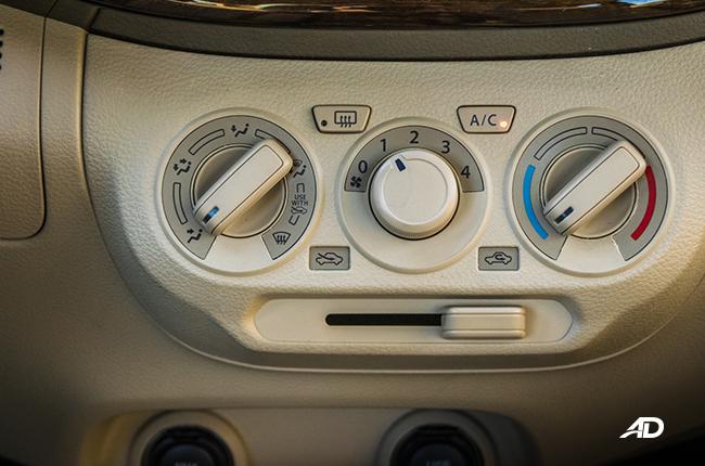 2019 Suzuki Ertiga interior Air Conditioning Controls