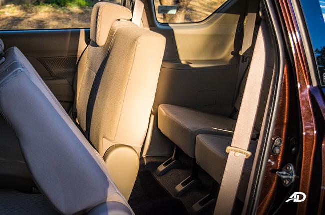 2019 Suzuki Ertiga interior Back Seat