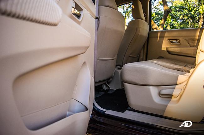 2019 Suzuki Ertiga interior Door