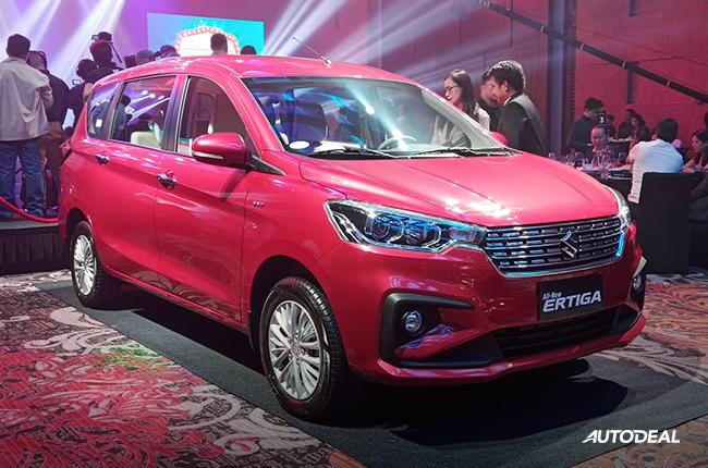 2019 Suzuki Ertiga Philippines front