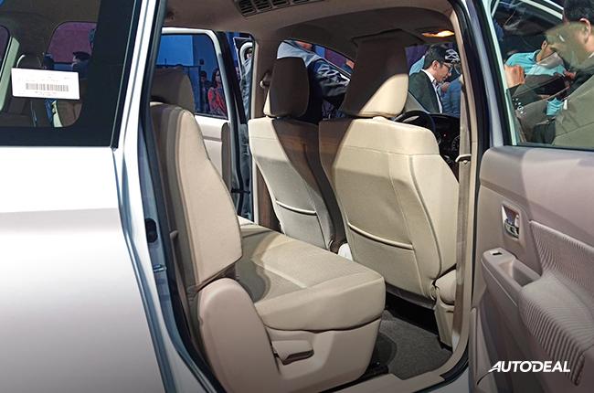 2019 Suzuki Ertiga Philippines second row