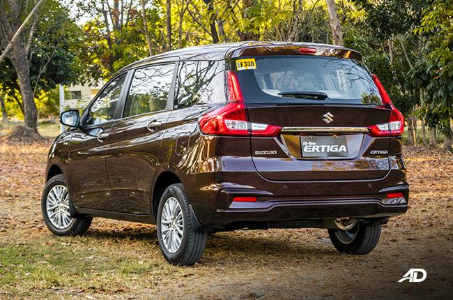 2019 Suzuki Ertiga Review Rear