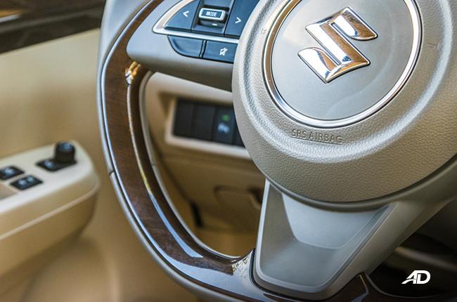 2019 Suzuki Ertiga Review Steering Wheel