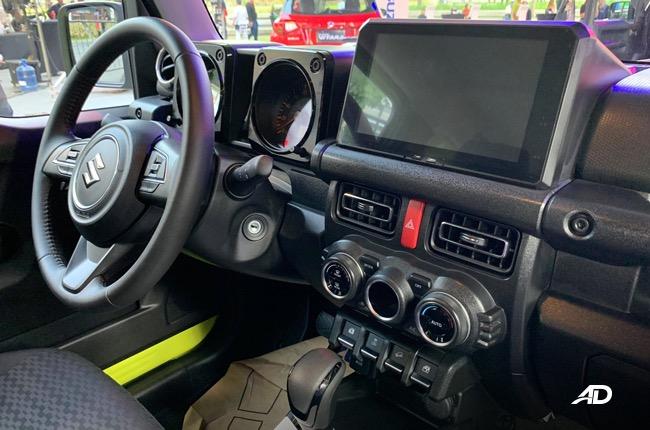 2019 Suzuki Jimny interior