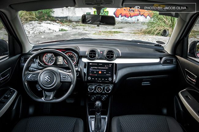 2019 suzuki swift dashboard