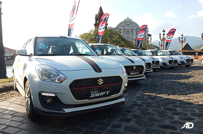 2019 Suzuki Swift fleet