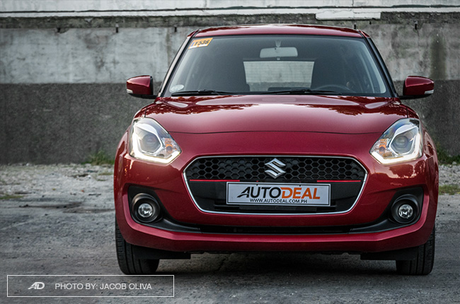 2019 Suzuki Swift front