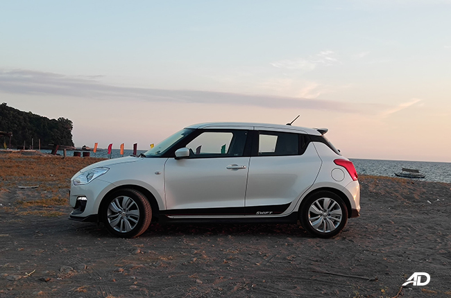 2019 Suzuki Swift GL CVT side
