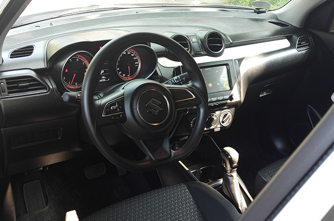2019 Suzuki Swift interior
