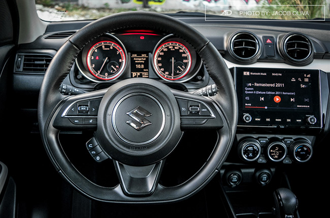 2019 Suzuki Swift steering wheel