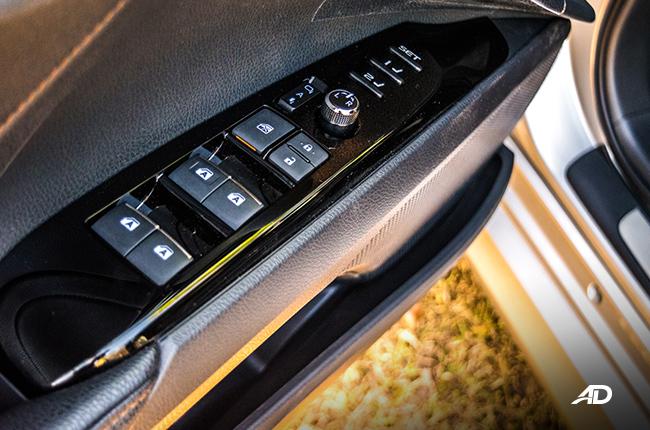 2019 Toyota Camry door controls