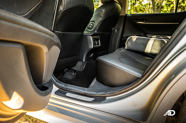 2019 Toyota Camry rear seats