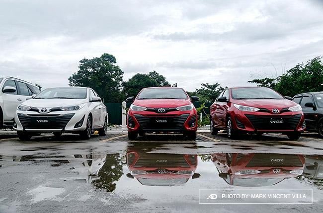 2019 Toyota Vios range