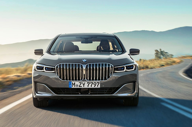 2020 BMW 7 Series front fascia