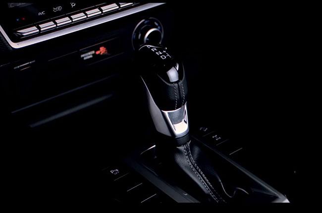 2020 isuzu dmax center console with gear shifter