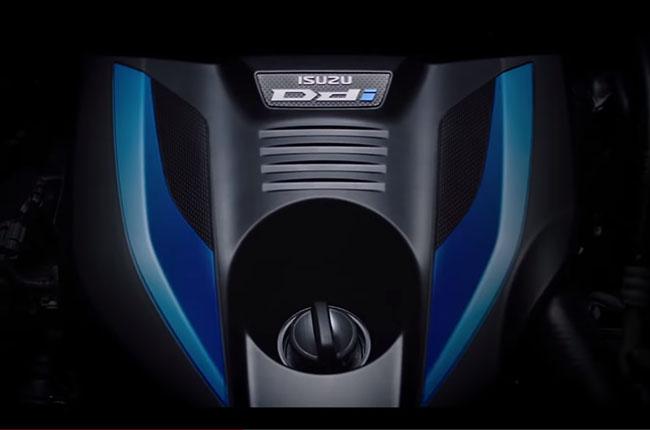 2020 isuzu dmax new engine cover
