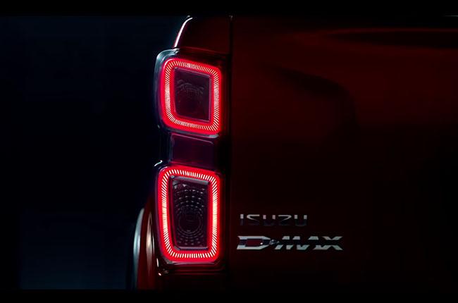 2020 isuzu dmax rear tail lights