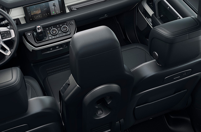 2020 Land Rover Defender Interior 3 front seating Philippines