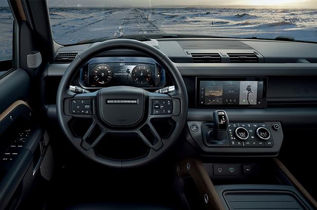 2020 Land Rover Defender Interior Dash Philippines