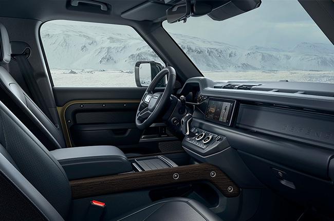 2020 Land Rover Defender Interior passenger side Philippines