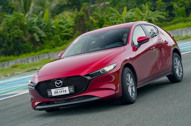 2020 Mazda3 drive
