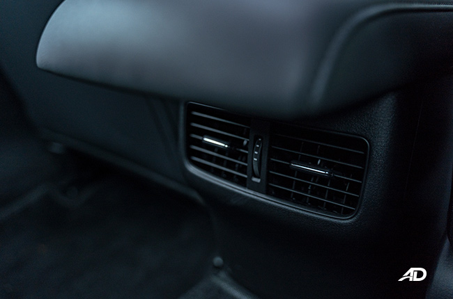 2020 Mazda3 rear vents