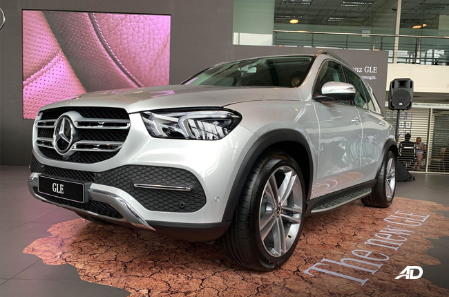 2020 Mercedes GLE front