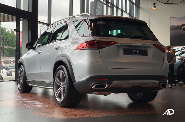 2020 Mercedes GLE rear