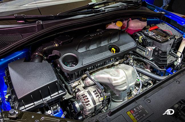 2020 MG 5 exterior engine