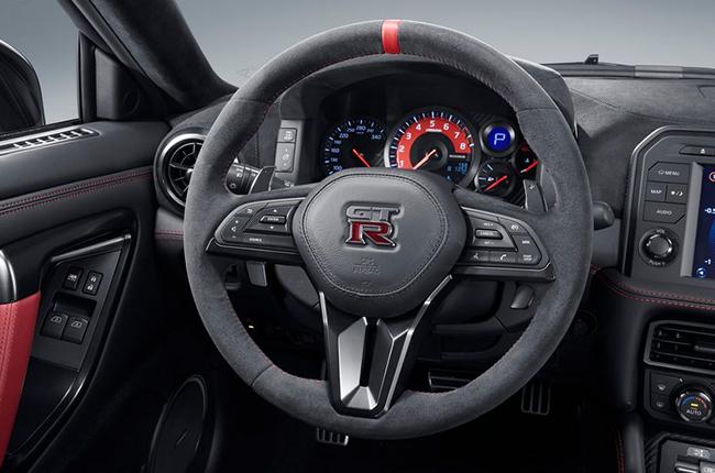 2020 Nissan GT-R NISMO interior