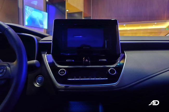 2020 Toyota Corolla Altis interior philippines