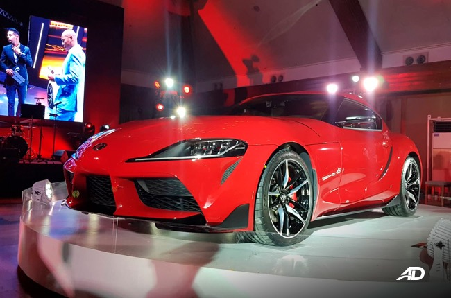 2020 Toyota Supra Prominence Red exterior