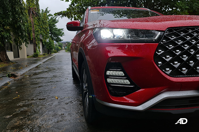 2021 Chery Tiggo 7 exterior headlight Philippines