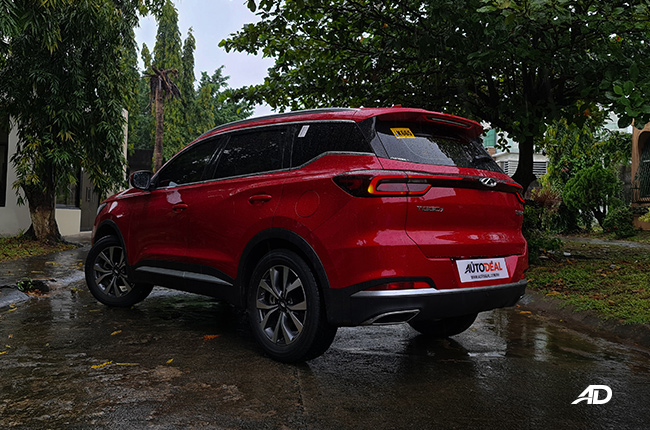 2021 Chery Tiggo 7 Pro exterior quarter rear Philippines