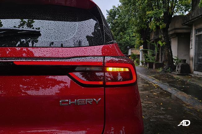 2021 Chery Tiggo 7 Pro exterior taillight Philippines